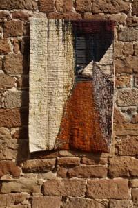 L'ombre de la rembarde - tapisserie haute lice