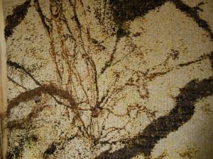 L'ombre du setsuka - 90x80 - tapisserie haute lice