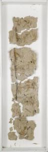 Fragment d'histoire - 180x60 - technique personnelle
